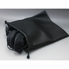 Leather On-ear Headphone Bag For Sennheiser ATH Beats Bose JVC AKG Sony  B&W