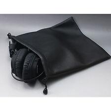 Leather On-ear Headphone Bag For Sennheiser ATH Beats Bose JVC AKG Sony  B&W