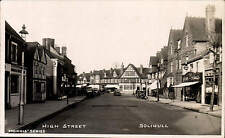 Solihull. High Street in Morris' Series.