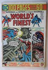 WORLDS FINEST COMICS #227 FEB 1975 SUPERMAN BATMAN DEADMAN RIP  HUNTER VIGILANTE
