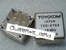 1new Toyocom Tco 676a 10 Mhz 5v 25x25mm Sc Cut Ocxo Crystal Oscillator