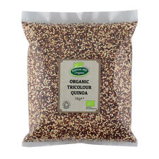 Organic Tricolour Quinoa (White, Red & Black) 1kg