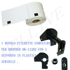 Etichette per Brother DK-11202 62X100mm QL 500 QL 500A QL 550 560 VP QL 570 BL