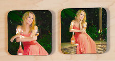 More details for kylie minogue coasters set of 2 (kylie wine) part 2.