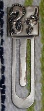 Danon Seahorse Bookmark, Silver?