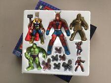 1997 Toy Biz Marvel Collectors Edition - Original Avengers Toy Figure Set - RARE