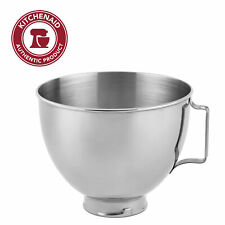 KitchenAid 4.5-Qt. Polished Stainless Steel Bowl with Handle, K45SBWH