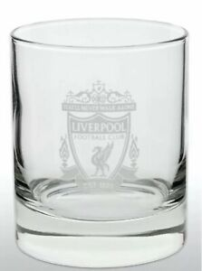 Liverpool FC Official Football Gift Whiskey/ Vodka/ Tumbler Glass