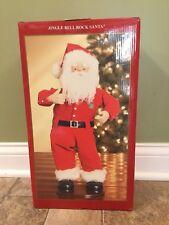 "Animated Musical ""Jingle Bell Rock"" Rock Hip Swingin Santa Display Figure"