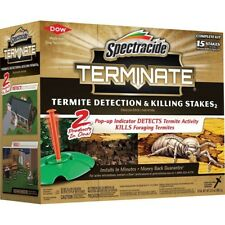 15 Termite Killing Stakes Detector Trap Bait Insect Killer Bug Pest Detection