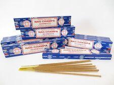 Lot of 12 Box Original Nag Champa Incense Stick: 12 x 15gr = 180gr of Satya