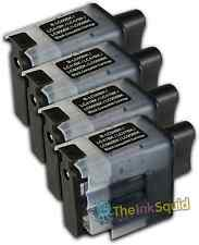 4 LC900 Black Ink Cartridge Set For Brother Printer DCP110C DCP111C DCP115C