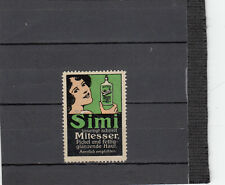 Simi  beseitigt schnell Mitesser    1 Werbemarken von 1913