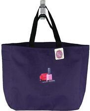 Nail Polish Monogram Bag Purple Essential Tote Salon Tech Beauty School Gift NWT