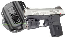Viridian Ruger SR9c SR40c C5L Green Laser Sight and Lumen Light w/TacLoc Holster