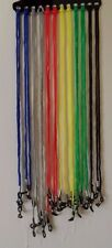 12 X COLORFUL EYEGLASSES NECK NYLON STRING STRAP