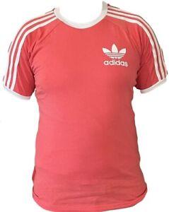 Adidas 3 Stripe Men's Crew Neck Short Sleeve T Shirt