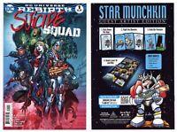 Suicide Squad #1 (NM+ 9.6) Harley Quinn Jim Lee Cover Art 2016 DC Comics