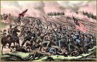 Currier & Ives | The Battle of Petersburg VA.  Art Print