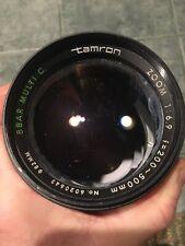 Tamron Zoom 1:6.9 f=200~500mm No. 6020643 82MM BBAR MULTI C