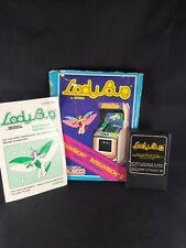 Lady Bug Intellivision game Complete w/ manual box cartridge Box is Damaged