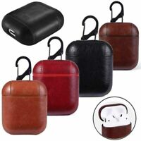 Luxury Leather Protective Cover Skin AirPods Case For Apple AirPod Charging Case