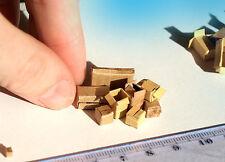8 Real miniature cardboard boxes O HO scale model diorama shipping scenery cargo