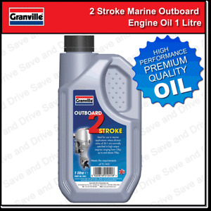 Granville 2 Stroke Marine Outboard Engine Oil For Boats Jet Ski etc Two Stroke