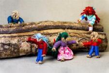 Worry Dolls, Wicca, Pagan, Jute, Witch, Yarn, Child, Peace, Sleep, Free Postage