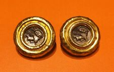 OLYMPIA Sterling Silver Coin Earrings