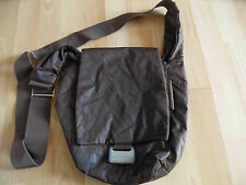 MANDARINA DUCK stylische Handtasche im used look braun TOP HMI315