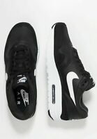 Nike Air Max 1 Mens Black White Leather Shoe Trainer Sneaker Sport UK Size 6-12