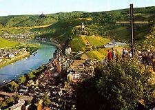 Weinstadt Cochem an der Mosel mit Pinnerkreuz , Ansichtskarte, 1972 gelaufen