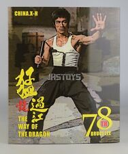 Ready CHINA. X - H 1/6 Bruce Lee 78th Anniversary Way of the Dragon Statue EMS