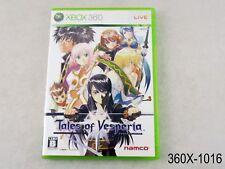 Tales of Vesperia Xbox 360 Japanese Import Japan Xbox360 JP US Seller B