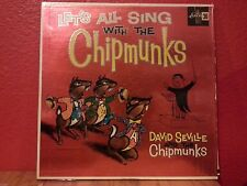 33 RPM LP  Record Let's All Sing With The Chipmunks LRP 3132