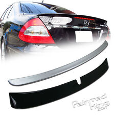 Painted Mercedes Benz W211 E L-Type Roof Spoiler & A-Type Boot Trunk Spoiler
