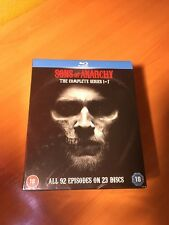 Sons Of Anarchy Temporadas 1 To 7 Colección Completa Blu-Ray