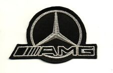 For AMG Mercedes Benz Motor Sport P1122 Embroidered Iron on Patch High Quality