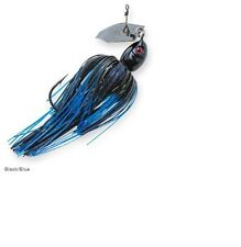 Z-Man Project Z Chatterbait 3/4 oz Black Blue CB-PZ34-08 Chatter Bait Jig