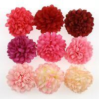 "100XBulk Artificial Silk Flowers Heads Fake 2"" Spherical Daisy DIY Wedding Decor"