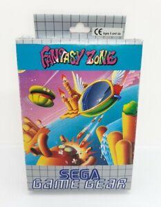 Fantasy Zone Sega Game Gear Game Complete In VGC