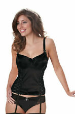 Black Hook & Eye Basques & Corsets for Women