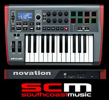 NOVATION IMPULSE 25 KEY MIDI USB CONTROLLER KEYBOARD PC / MAC BRAND NEW IN BOX