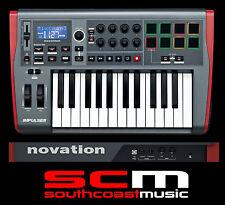 NOVATION IMPULSE 25 KEY MIDI USB CONTROLLER KEYBOARD PC / MAC BRAND NEW IN BOX
