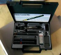 Vintage Faber-Castell Profitech Technical Drawing INSTRUMENTS Set w/ Hard Case