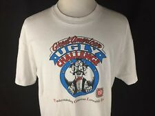 Great American Ugly Challenge Adult Xl White T Shirt Multiple Sclerosis Vtg 1993