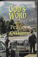 WOW! ~ God's Word for peace POLICE officers Sheriff's deputies BIBLE FOR COPS