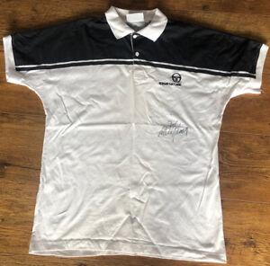Original 80's Sergio Tacchini Tennis Shirt as Worn by McEnroe & Autographed