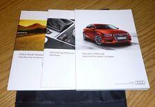 2015 Audi A3 S3 Sedan Owners Manual Set 15 + Mmi Radio Guide w/case 1.8 2.0 tdi